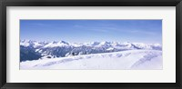 Framed Reith Im Alpbachtal, Tyrol, Austria