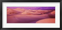 Framed Death Valley National Park, California (Pink)
