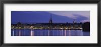 Framed Buildings at the waterfront, Lake Malaren, Gamla Stan, Stockholm, Sweden