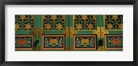 Framed Buddhist temple Paintings, Kayasan Mountains, Haeinsa Temple, Gyeongsang Province, South Korea