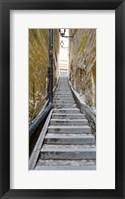 Framed Stairway along walls, Gamla Stan, Stockholm, Sweden