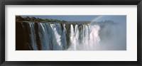 Framed Victoria Falls, Zimbabwe
