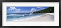 Framed Clouds over Anse Cocos Beach, Aitutaki, Cook Islands