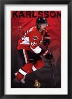 Framed Ottawa Senators® - E Karlsson 13
