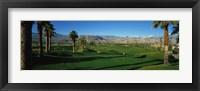 Framed Golf Course, Desert Springs, California, USA