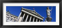 Framed Austria, Vienna, Parliament