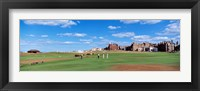 Framed Golf Course, St Andrews, Scotland, United Kingdom