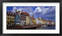 Framed Denmark, Copenhagen, Nyhavn