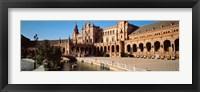 Framed Plaza Espana, Seville, Spain
