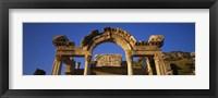 Framed Turkey, Ephesus, temple ruins