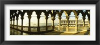 Framed Columns in Saint Mark Square, Venice