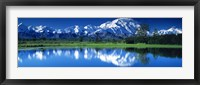 Framed Mt McKinley and Wonder Lake Denali National Park AK