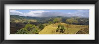 Framed Clouds over mountains, Monteverde, Costa Rica