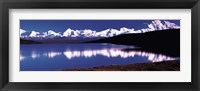 Framed Mt. McKinley & Wonder Lake Denali National Park AK USA