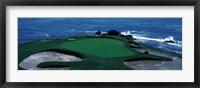 Framed Pebble Beach Golf Course 8th Green Carmel CA