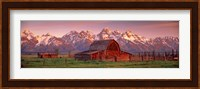 Framed Barn Grand Teton National Park WY USA