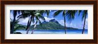 Framed Bora Bora, Tahiti, Polynesia