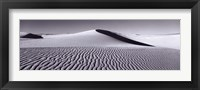 Framed Dunes in Black and White, New Mexico