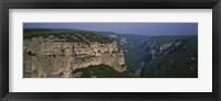 Framed Ardeche River, Provence, France