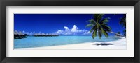Framed Bora Bora South Pacific