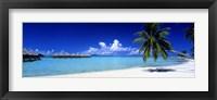 Framed Bora Bora South Pacific
