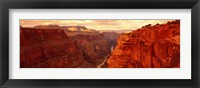 Framed Toroweap Point, Grand Canyon, Arizona (horizontal)