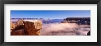 Framed South Rim Grand Canyon National Park, Arizona, USA