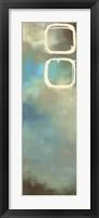 Framed Retro in Aqua and Khaki III