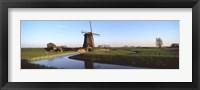 Framed Windmill, Schermerhorn, Netherlands