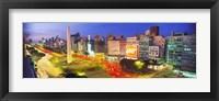 Framed Plaza De La Republica, Buenos Aires, Argentina