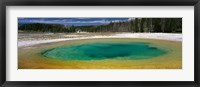 Framed Spring, Beauty Pool, Yellowstone National Park, Wyoming, USA