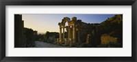 Framed Facade of a temple, Hadrian Temple, Ephesus, Turkey