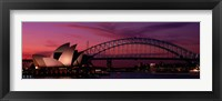 Framed Australia, Sydney, sunset