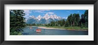 Framed Rafters Grand Teton National Park WY USA