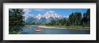 Framed Rafters Grand Teton National Park WY USA