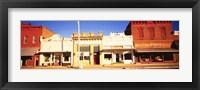 Framed Store Fronts, Main Street, Chatsworth, Illinois