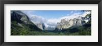 Framed Yosemite National Park CA USA