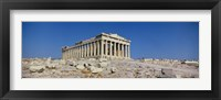 Framed Parthenon Athens Greece