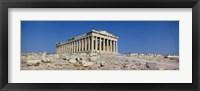Framed Parthenon Athens Greece