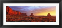 Framed Sunrise, Monument Valley, Arizona, USA