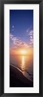 Framed Sunset Over the Water, The Algarve Portugal