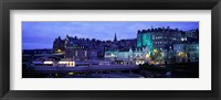 Framed Old Town Edinburgh Scotland