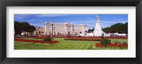 Framed Buckingham Palace, London, England, United Kingdom