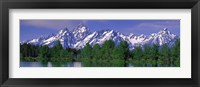 Framed Grand Tetons National Park WY