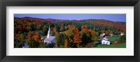 Framed Autumn, Waits River, Vermont, USA