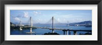 Framed Ting Kaw & Tsing Ma Bridge Hong Kong China