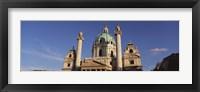 Framed Austria, Vienna, Facade of St. Charles Church