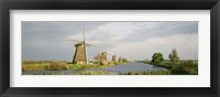Framed Windmills in Holland