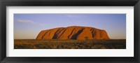 Framed Ayers Rock, Uluru-Kata Tjuta National Park, Northern Territory, Australia