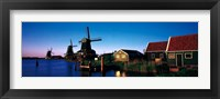 Framed Windmills Zaanstreek Netherlands